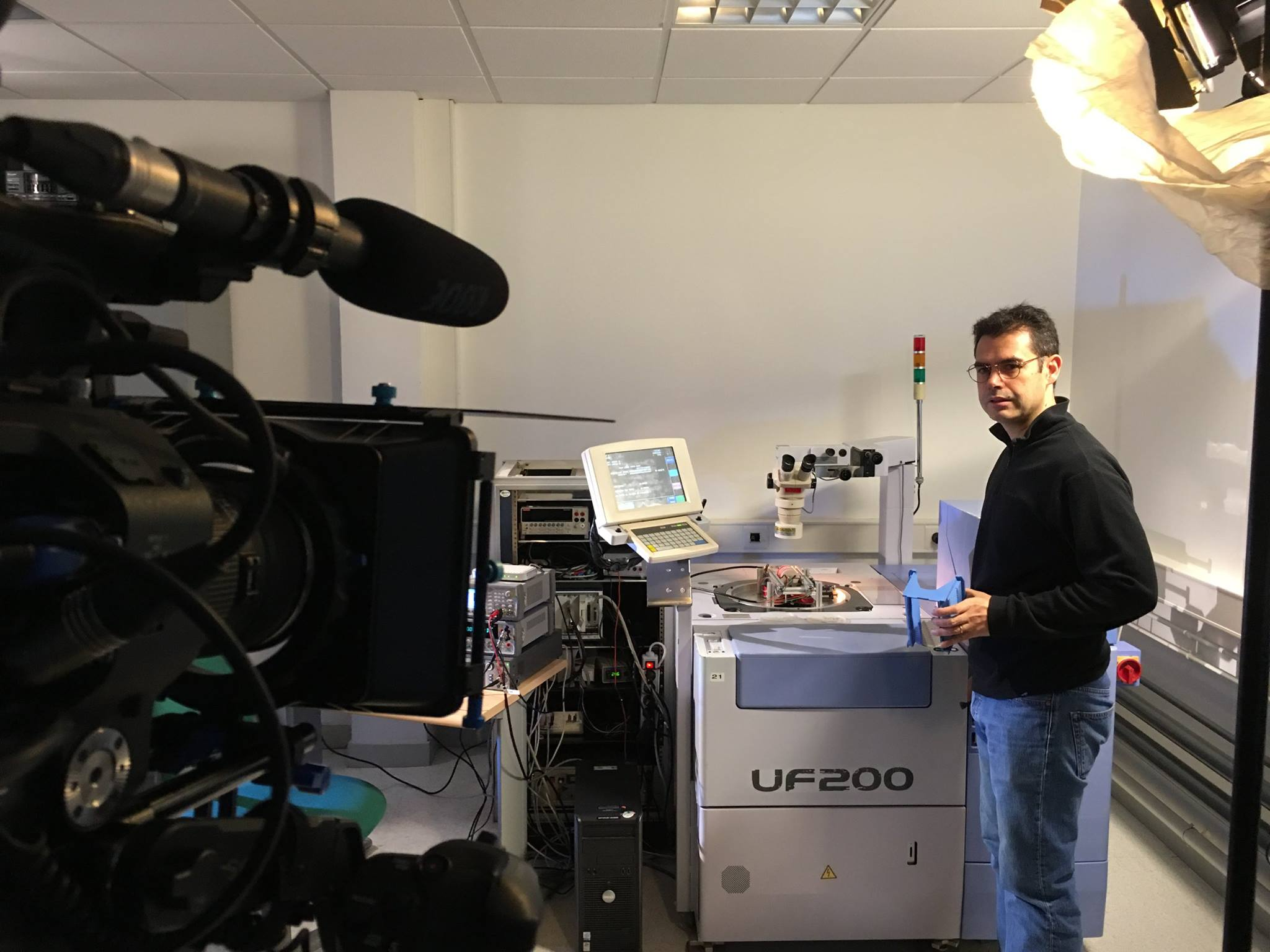 hprobe tester filming